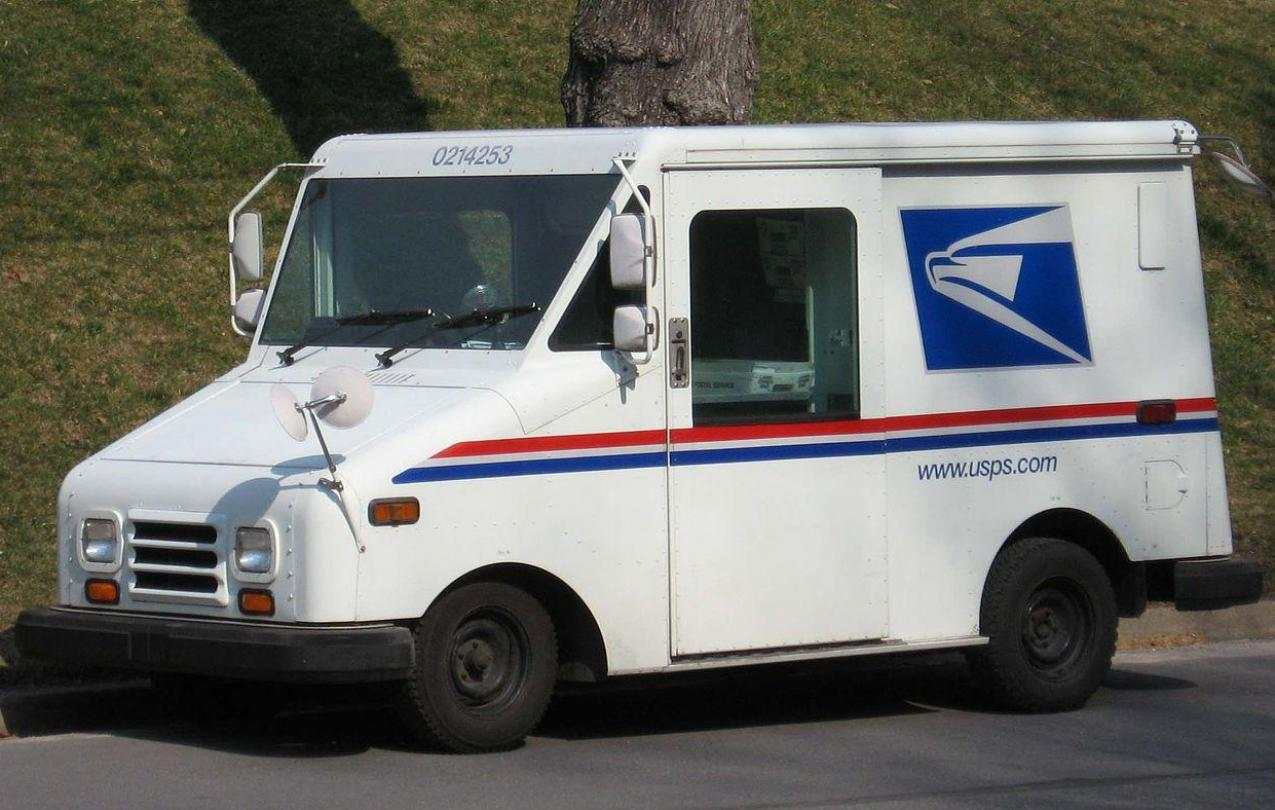 USPS Mail Truck